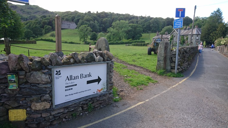 The Entrance to Allan Bank
