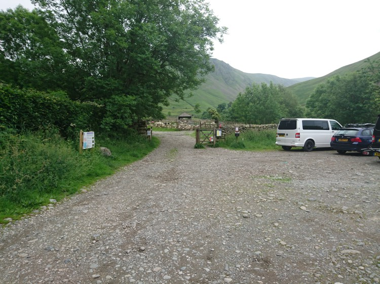 The Car Park and Gate