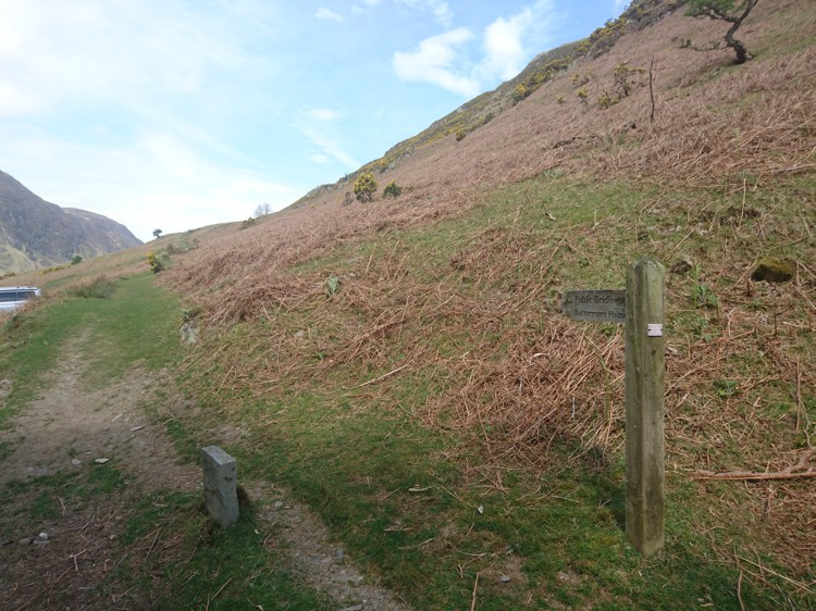 The Bridleway to Buttermere Hause