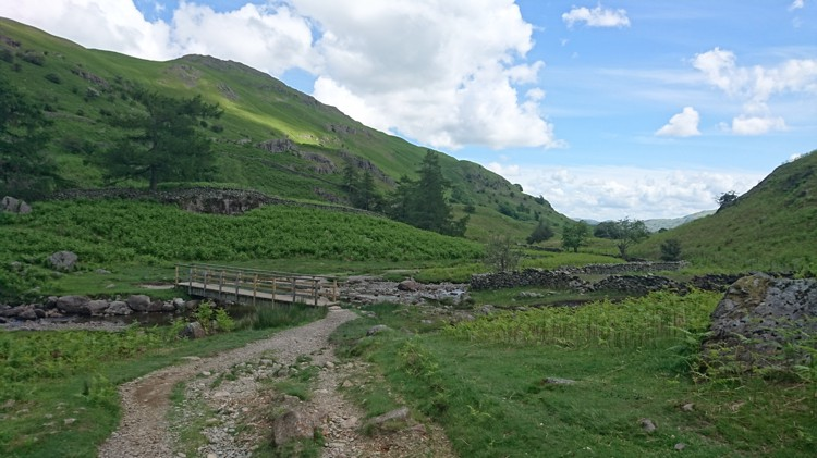 The Bridge over Far Easedale Gill