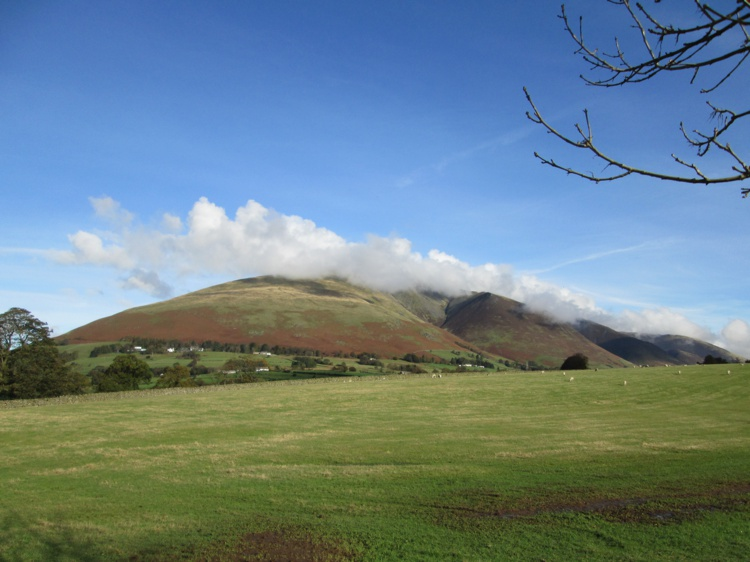 Blencathra as Seen from the Road