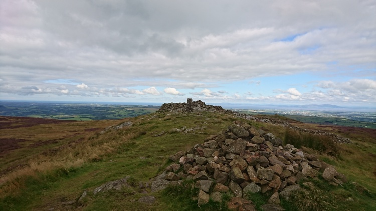 The Summit – Facing the Solway Firth