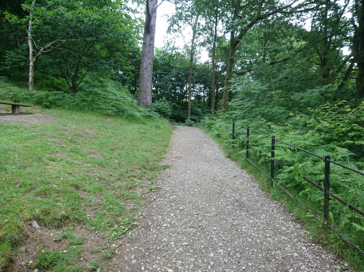 The Path at the Top of the Steps