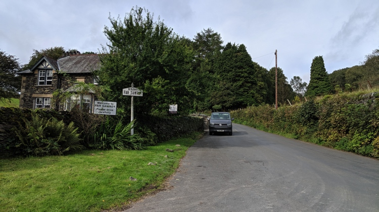 The Entrance to Far Sawrey