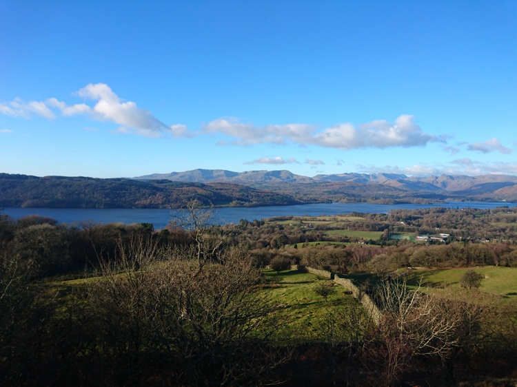 View of Lake Windermere from the Summit