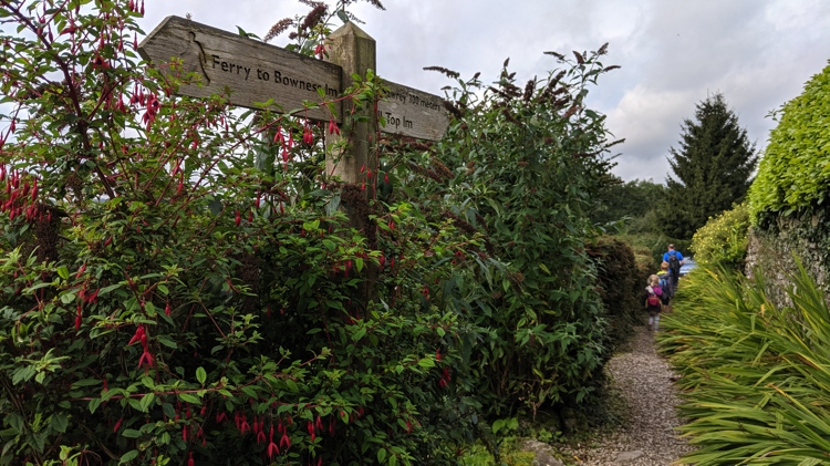The Narrow Path Past the Holiday Cottages