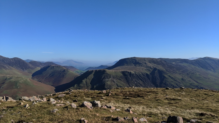 Looking Towards Newlands Valley from the Summit