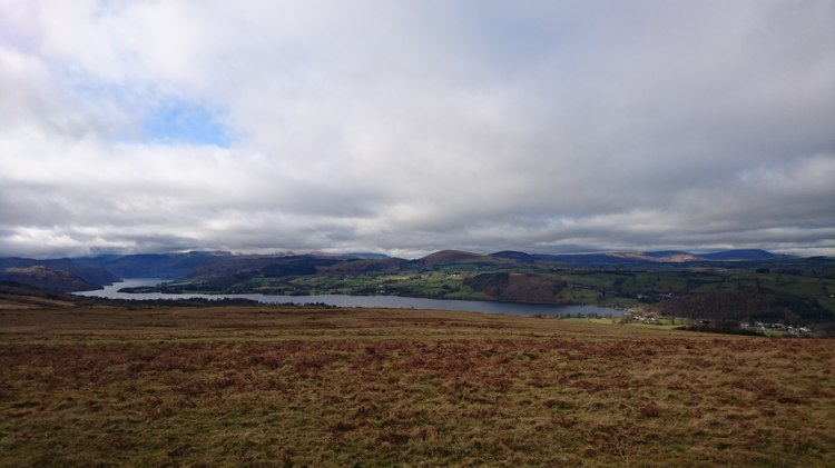 Ullswater from Heughscar Summit