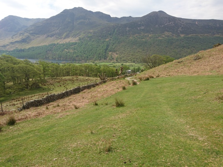 The Wall with Path Leading to Buttermere
