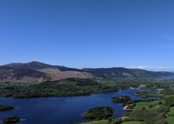 View From Walla Crag Summit