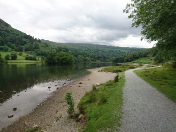 Path Along Rydal Water Shore