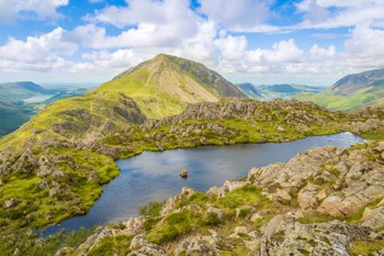 Ennerdale and Crummock Waters from Haystacks