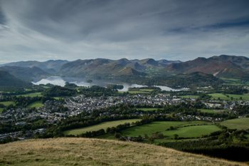 View of Keswick & Derwent Water from Latrigg
