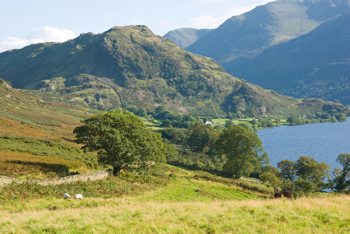 Views of Crummock Water & Rannerdale Knotts