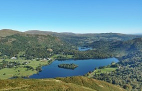 Grasmere Lake from Silver How