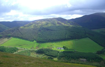 Whinlatter fell as seen from Graystones