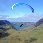 Paragliding in the Lake District